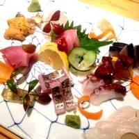 夕方〆鮮魚のお刺身盛り合わせ