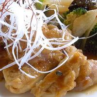 大山鶏香味焼き 添え野菜