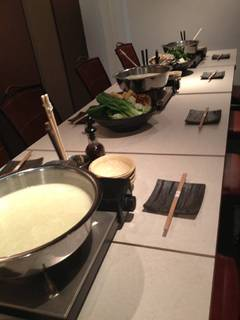 コース料理 白濁水炊き