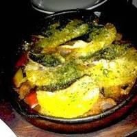 秋刀魚とオレンジのオーブン焼き プロヴァンス風