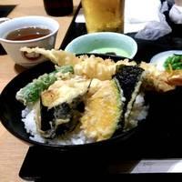 海老カニ天丼