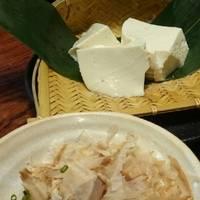 川越産大豆使用 ざる豆腐