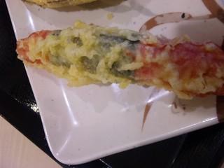 かにかまの天ぷら