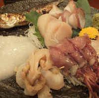 おまかせ魚介の七輪焼き