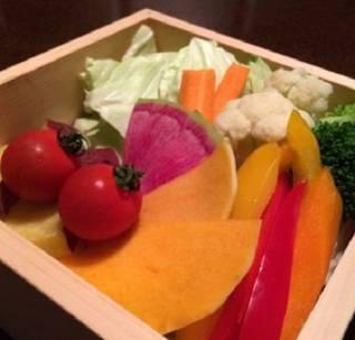 彩蒸し野菜
