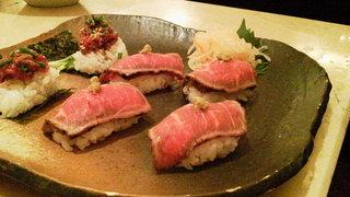 炙りトロ寿司