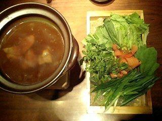 京野菜のしゃぶしゃぶ