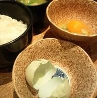 究極の卵かけご飯とじゃこ山椒