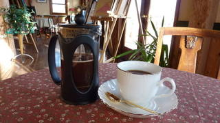 フレンチプレス式コーヒー