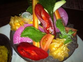 野菜の刺し盛り