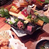 本日の地鮮魚5種盛り合わせ