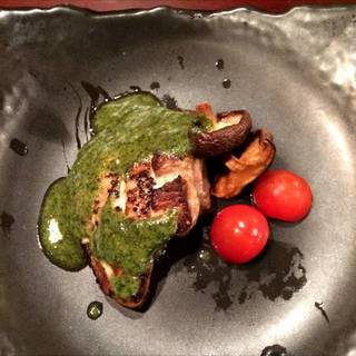 鮪ホホ肉ステーキ