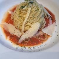 冷製ガスパチョスープのカッペリーニ