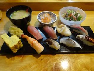 上握り寿司セット