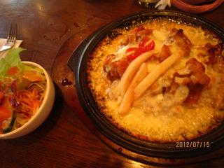 鶏肉カレードリア