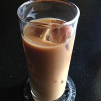 冷たい豆乳カフェオレ