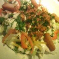 キーマカレーのシーザーサラダ