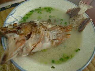 アラカブの味噌汁