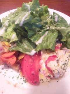 ヘルシー志向のお集まりに、野菜を贅沢に使った、ヘルシーフルコースを・・・