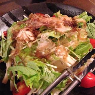 大根水菜サラダ