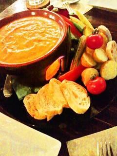 彩り野菜の自家製バーニャカウダ