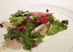 本日鮮魚のカルパッチョ