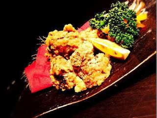 近江鶏もも肉の唐揚げ