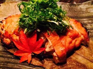 地鶏の西京焼き