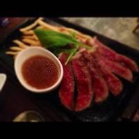 ランプ肉ステーキ
