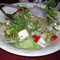 赤腹じゃこと水菜のサラダ