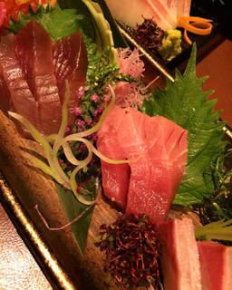 旬鮮魚の3点盛り
