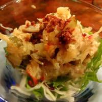 鶏ササミとピクルスのサラダ