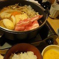 特選豚定食(しゃぶしゃぶ・すき焼) 本日の黒豚定食(しゃぶしゃぶ・すき焼)