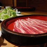 特選豚定食(しゃぶしゃぶ・すき焼)