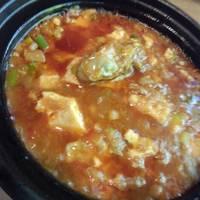 牡蠣麻婆豆腐
