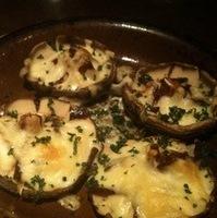 生ハムと椎茸チーズ焼き