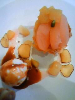 林檎とさつま芋のあつあつタルト
