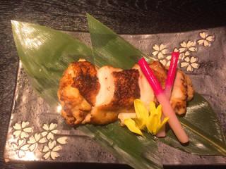 名古屋コーチンの西京味噌焼き