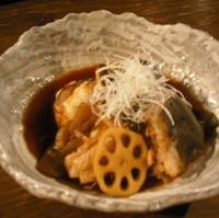 魚のアラ煮