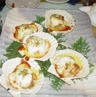 ホタテのネーズ焼き