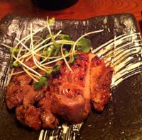 黒豚の辛味噌焼き