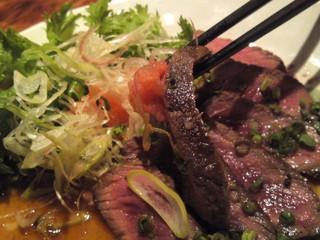 牛たたき風ステーキ