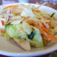 ツナとキャベツのピリ辛サラダ