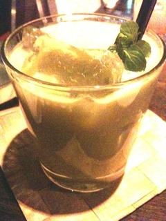 アボカドのジュース