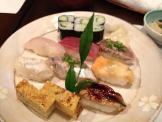 にぎり寿司定食/寿司屋 鯛将