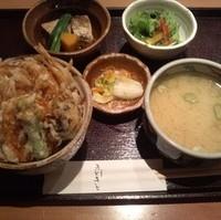 富山新湊産白えび天丼御膳