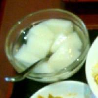 ランチ 杏仁豆腐