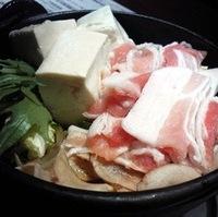 豚鍋ランチ