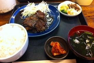 ランチ焼肉定食