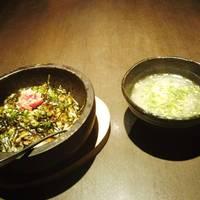 石焼明太高菜ビビンバ